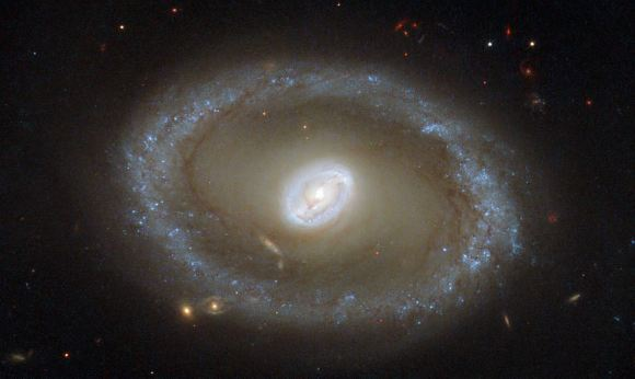Hubble Space Telescope picture of galaxy NGC 3081. Credi
