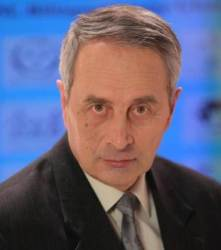 Alexander L. Zaitsev- Chief scientist of the Russian Academy of Science's Institute of Radio Engineering and Electronics, and head of the group that transmitted interstellar messages using the Evpatoria Planetary Radar telescope. (credit: Rumin)