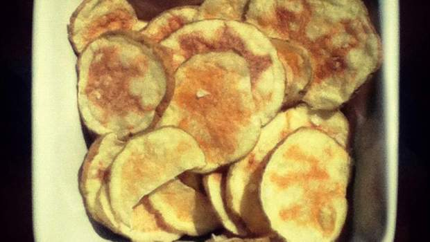 Microwave Potato Chips (University Foodie)