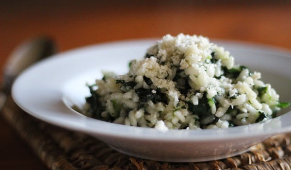 Spinach Risotto Recipe | universityfoodie.com