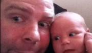Padre e figlia identici