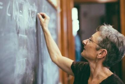 maestra di matematica