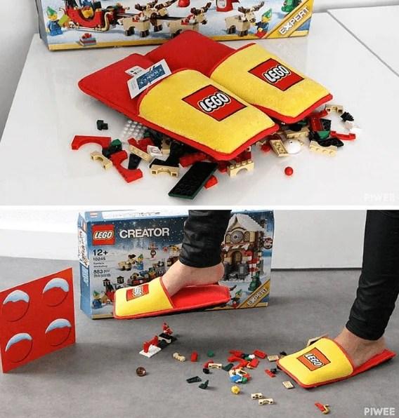 pantofole lego