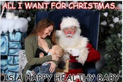 mamma allatta al seno