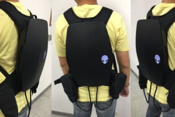 Alienware VR backpack