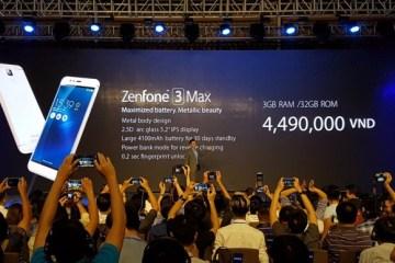Asus announces- Zenfone 3 Laser -Zenfone 3 Max