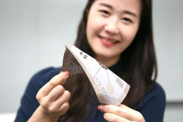 LG's flexible pressure sensor