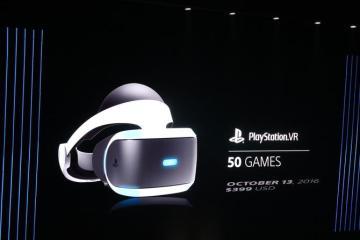 PlayStation VR-50 games