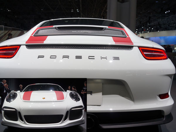 Porsche 911R-2017