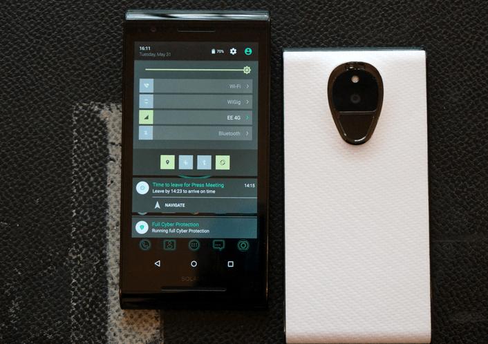 هاتف Solarin أحدث هواتف الأندوريد التي تعطيك الحماية والخصوصية