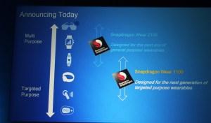 Qualcomm تعلن عن رقاقة معالج Snapdragon Wear 1100 في معرض #Computex2016