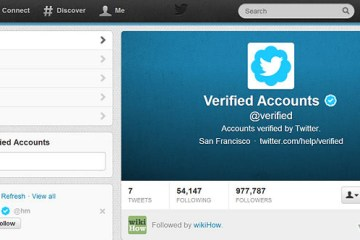 Twitter verified account