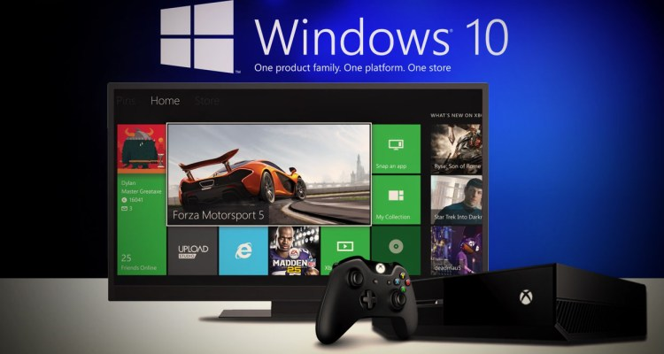 Windows 10 apps - Xbox One