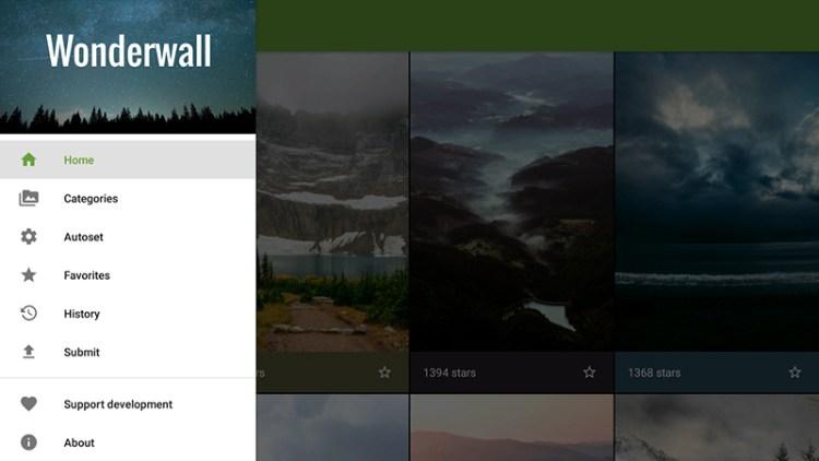 Wonderwall-app