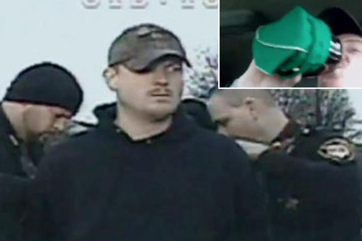arrested man
