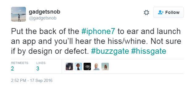 شكاوى عن تشويش صوتي في أجهزة آيفون 7