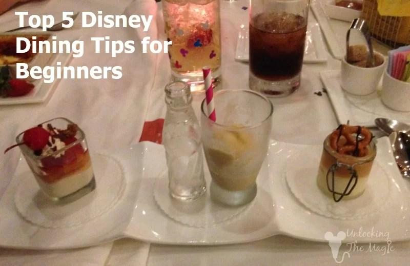 Disney Dining Tips