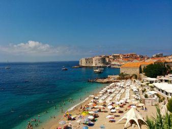 playa de Banje en Dubrovnik