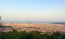Vista de Barcelona desde el Tibidabo