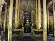 Monasterio Shwenandaw Kyaung en Mandalay