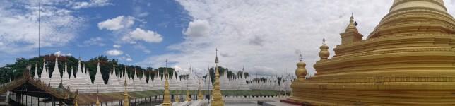 Pagoda Sandamuni en Mandalay