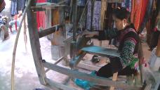 Shom tejiendo