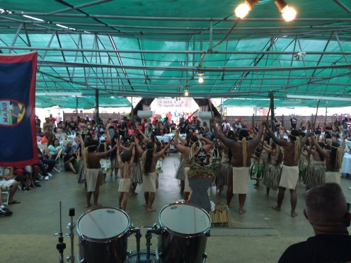 Uno Hit!  The San Diego 2014 Liberation celebration at the Sons and Daughters of Guam Club.