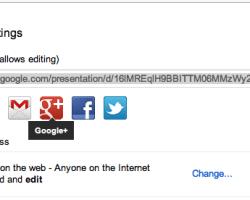 Google Drive ahora permite compartir archivos en Google+