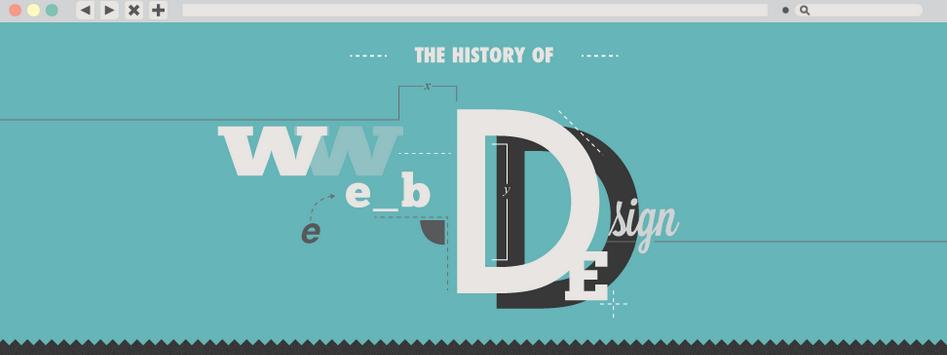 Un poco de historia sobre el diseño web