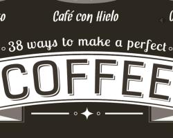 38 maneras de preparar café