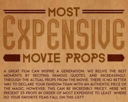 Las subastas más caras de utileria utilizada en películas taquilleras