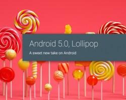 Lista parcial de dispositivos que se actualizarán a Android Lollipop