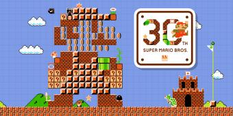 30 años de Super Mario Bros. Su evolución en un video