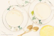 Panna Cotta con Lemon Curd