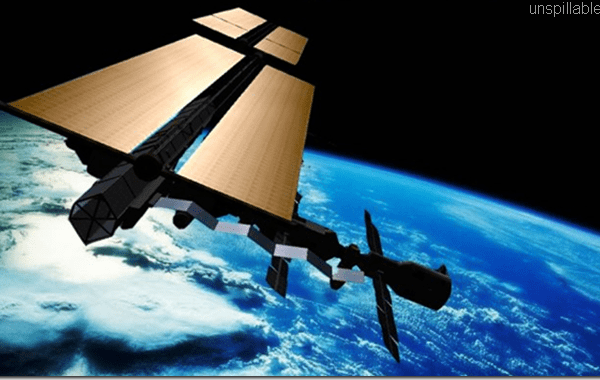 unspillable alternative to oil, space based solar power satellites