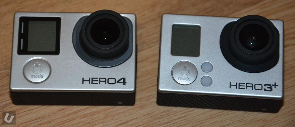 press gopro hero  vs comparison
