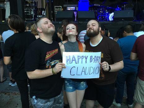 happy bday claudio sign