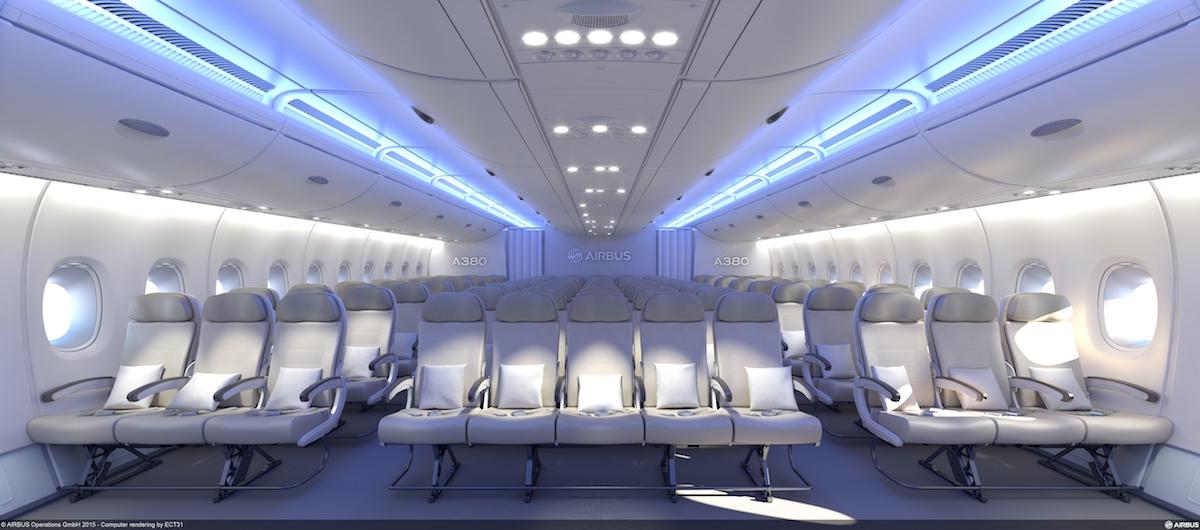 Airbus ontwikkelt kleinere trap voor in A380