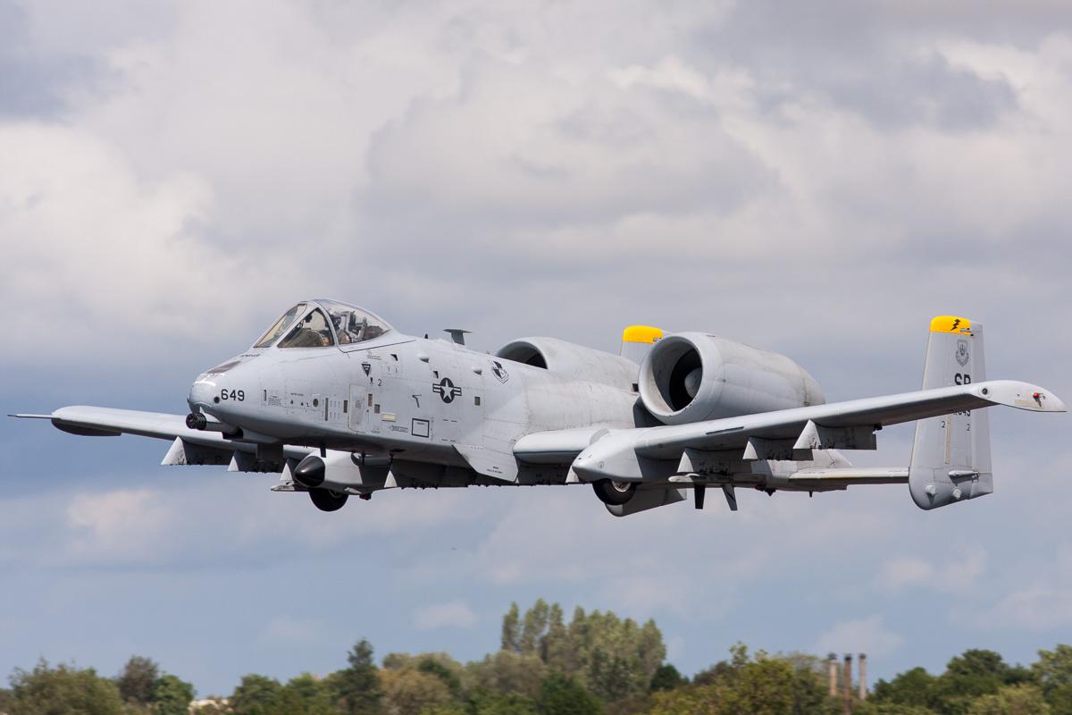 Amerikaans Congres wil een 'fly off' tussen F-35 en A-10