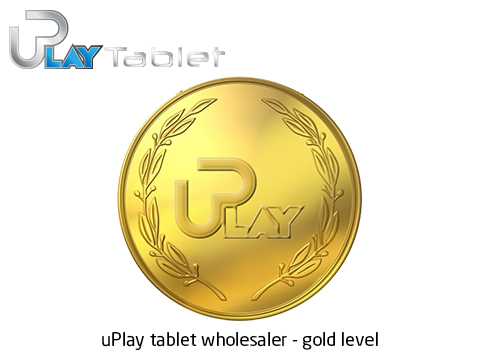 2. uPlay tablet wholesaler - gold level