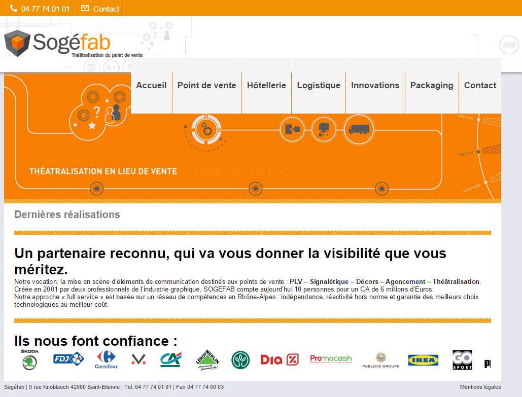 sogefab-homepage