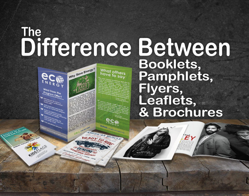 The Difference Between Flyers and Leaflets   and More