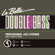 LaBella Black Tape Double Bass Strings