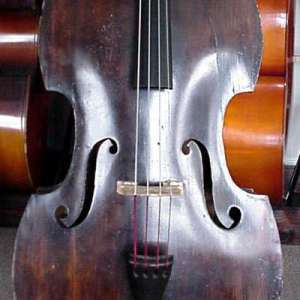 SOLD: Mittenwald Flat Back Double Bass CA 1890 SOLD