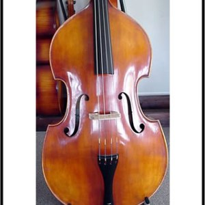 SOLD John Juzek Double Bass