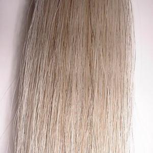 Bass Bow Hair Hank- LIGHT SILVER for 1 Bow Rehair