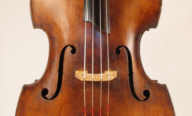 SOLD: John Juzek Master Art Double Bass c1930s