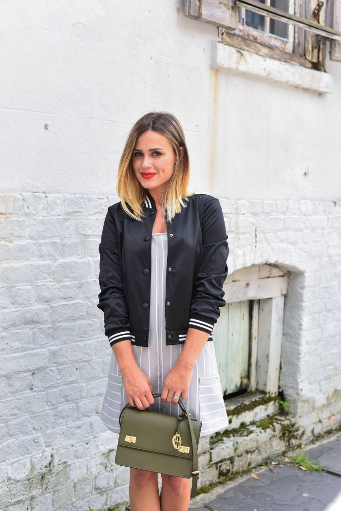 Military Chic: Bomber Jacket