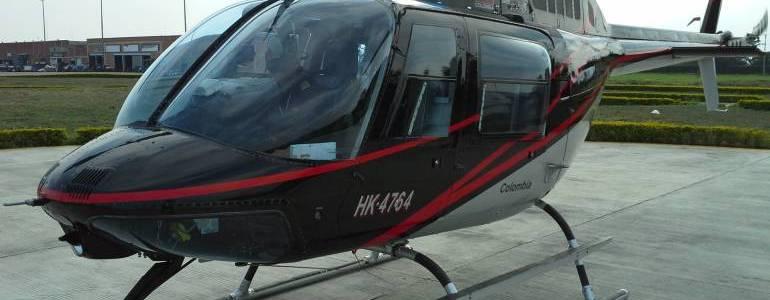 Tres muertos al caer un helicóptero en Santa Rosa de Osos, Antioquia