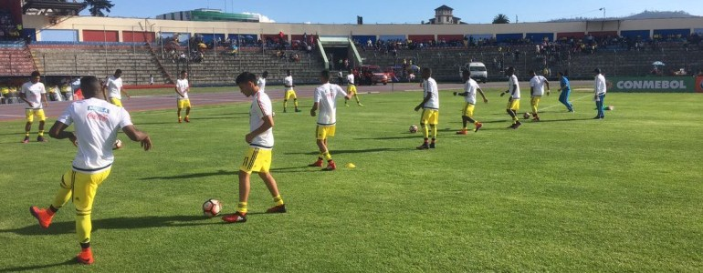 Colombia rescata un punto en su debut en el Sudamericano Sub-20